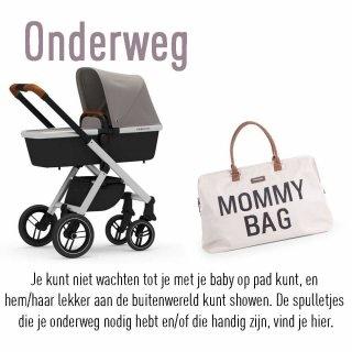 Je kunt niet wachten tot je met je baby op pad kunt, en hem/haar lekker aan de buitenwereld kunt showen. De spulletjes die je onderweg nodig hebt en/of die handig zijn, vind je hier.