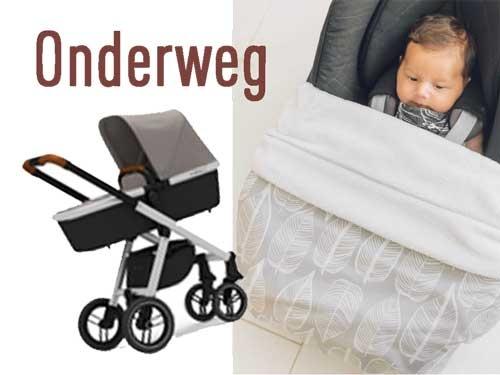 Je kunt niet wachten tot je met je baby op pad kunt, en hem/haar lekker aan de buitenwereld te showen. De spulletjes die je onderweg nodig hebt en/of die handig zijn, vind je hier.