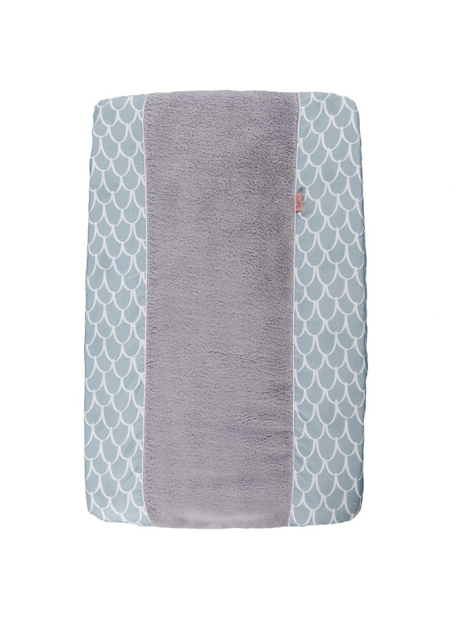 Changing pad cover Fly High Dusty Blue