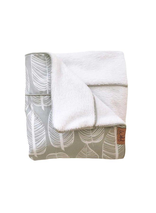 Tuck-Inn® wieg/Maxi-Cosi deken Beleaf Warm Grey