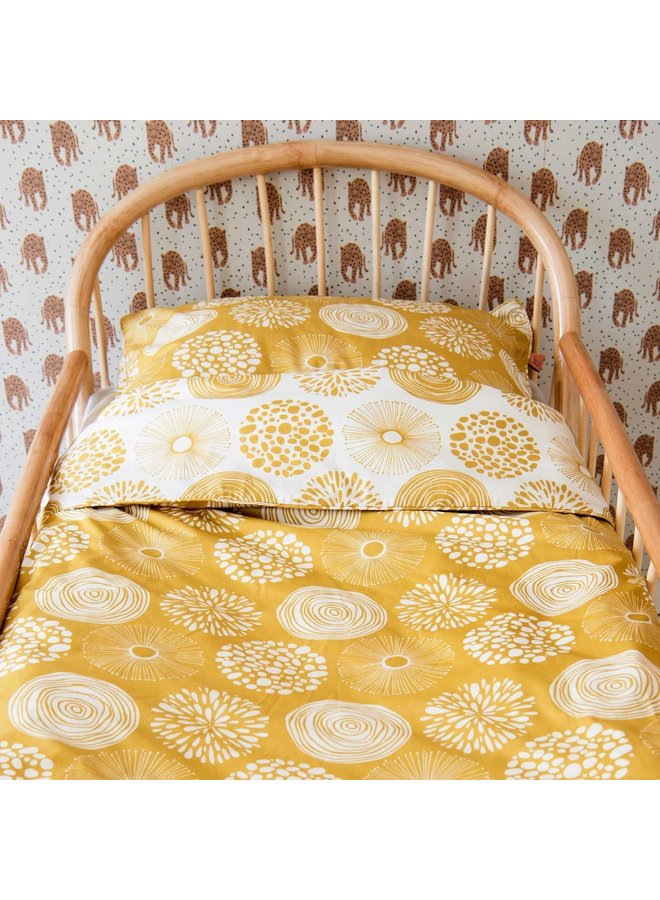 Tuck-Inn® dekbedovertrek 100x135 (baby) Sparkle Sweet Honey