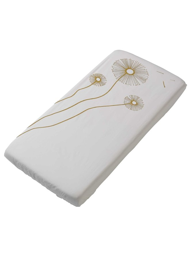 Fitted sheet 60x120 Sparkle Sweet Honey