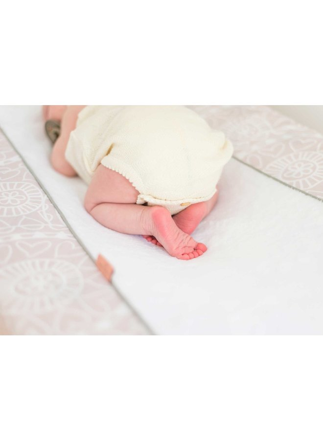 Changing pad cover Little Lof Misty Pink