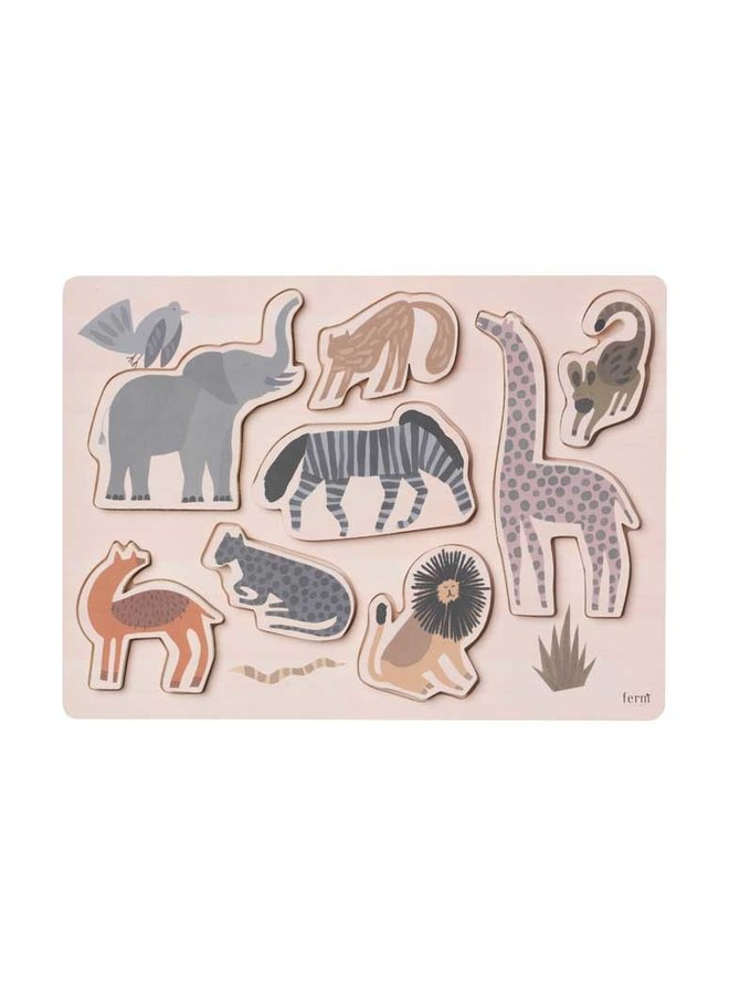 Ferm Living puzzel Safari