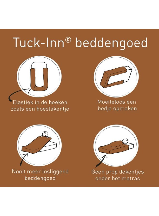 Tuck-Inn® wiegdeken Ombre Hazel brown