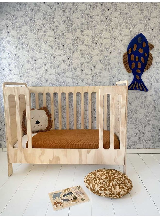 Ferm Living tapestry and carpet Fish tufted