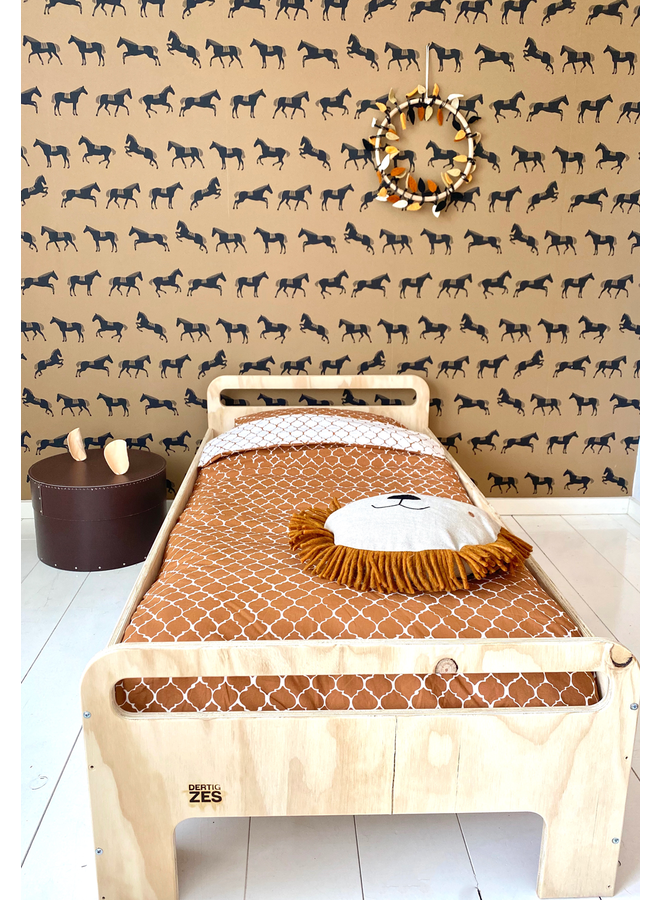 Ferm Living kussen Safari Lion natural