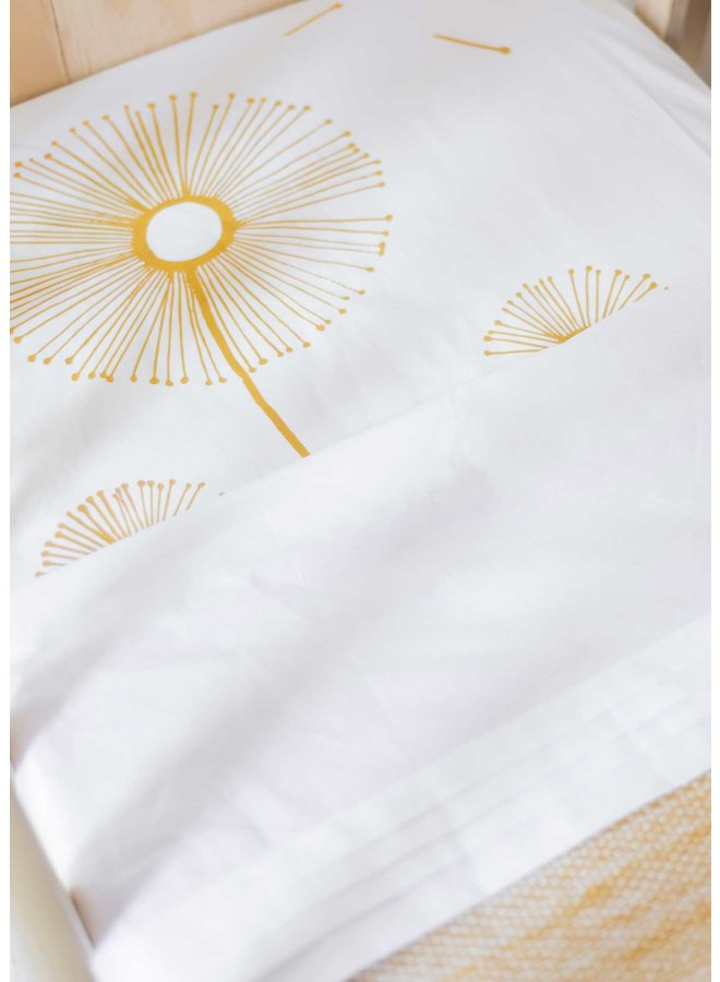 Fitted sheet 70x145 Sparkle Sweet Honey
