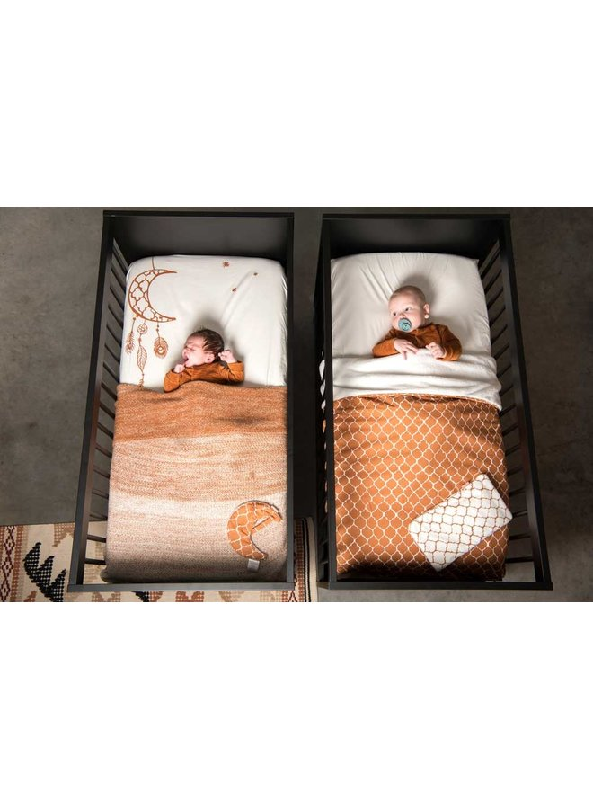 Tuck-Inn® baby blanket Ombre Hazel brown
