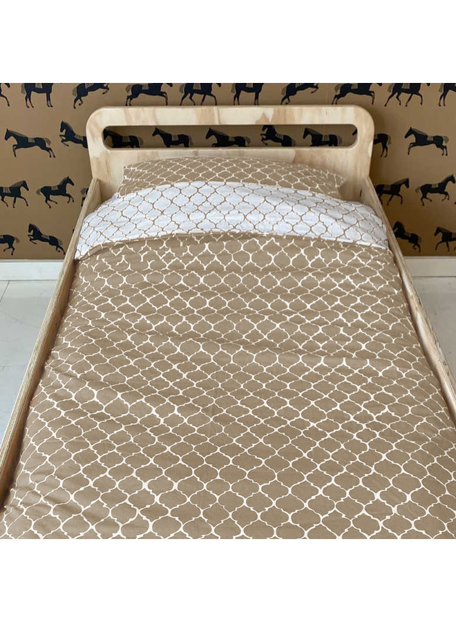 Tuck-Inn® duvet cover 100x135 (baby) Once upon a dream Sand