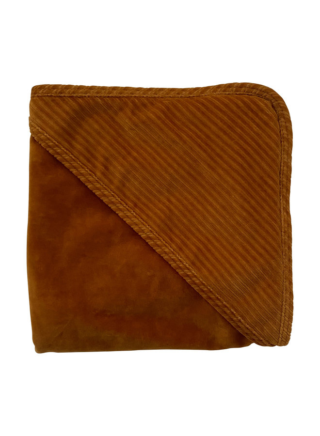 Wrapper Corduroy Hazel brown