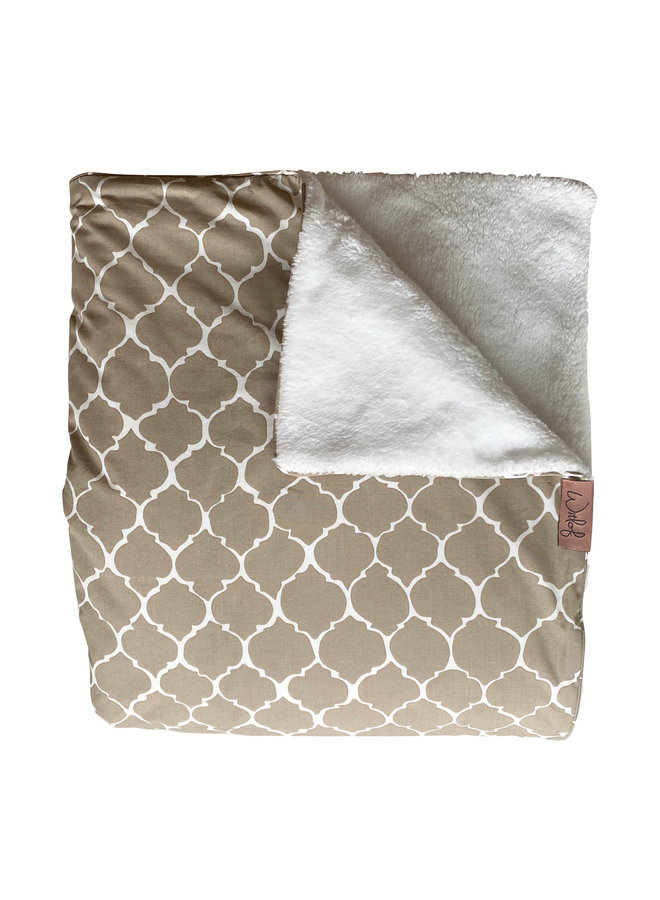 Tuck-Inn® baby blanket Once upon a dream Sand