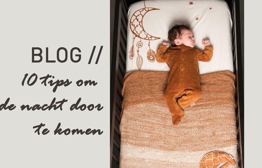 De eerste 100 dagen met je baby – 10 tips om de nacht door te komen