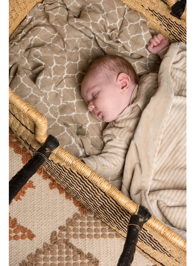 Swaddle 120x120 cm Once upon a dream Sand