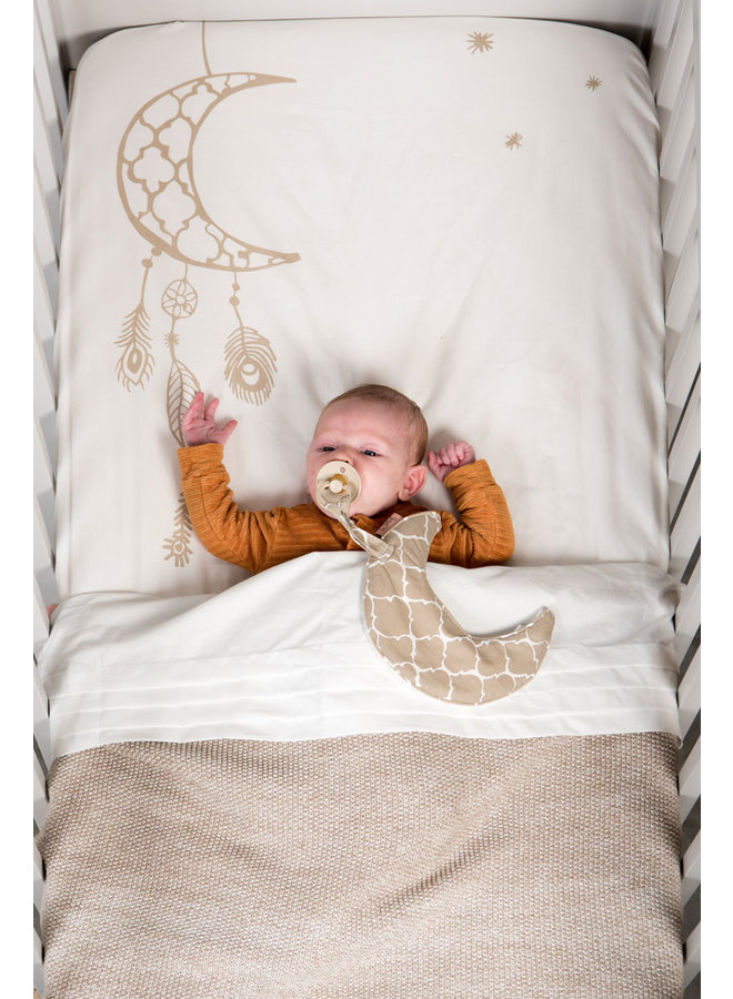 Pacifier cloth Once upon a dream Sand