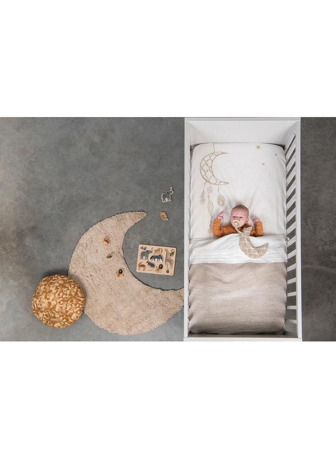 Tuck-Inn® baby blanket Ombre Sand