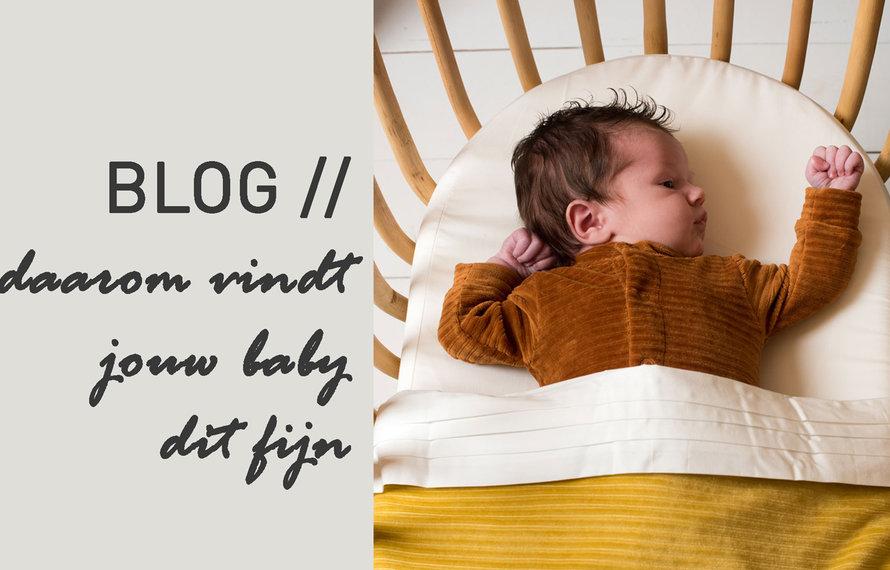 Daarom vindt jouw baby het fijn om strak ingestopt te worden