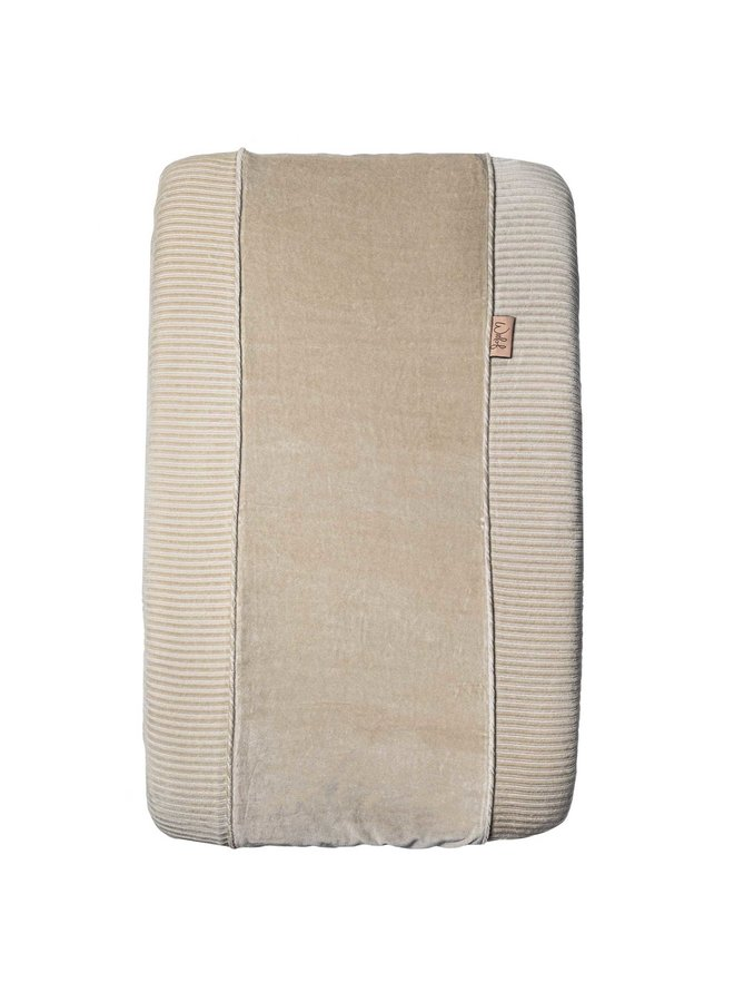 Changing pad cover Corduroy Sand