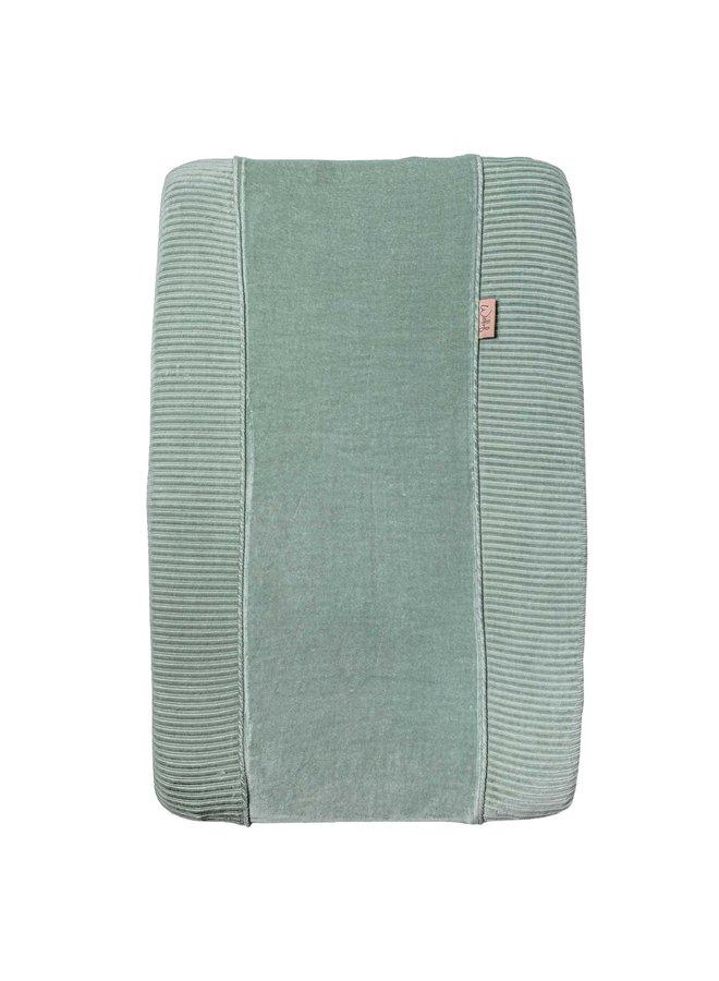 Aankleedkussenhoes Corduroy Sage green