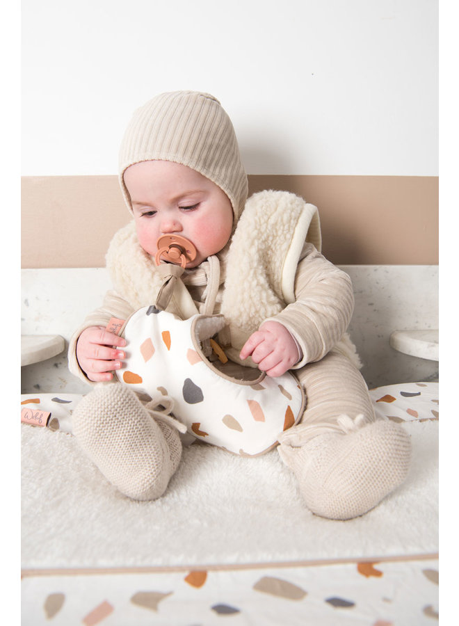 Pacifier cloth Colour your world