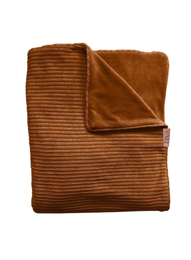 Tuck-Inn® ledikantdeken Corduroy Hazel brown