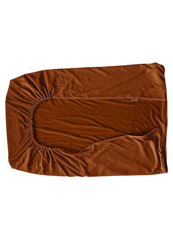 Tuck-Inn® baby blanket Corduroy Hazel brown