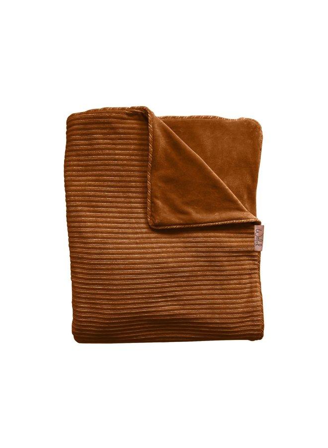 Tuck-Inn® bassinet blanket Corduroy Hazel brown