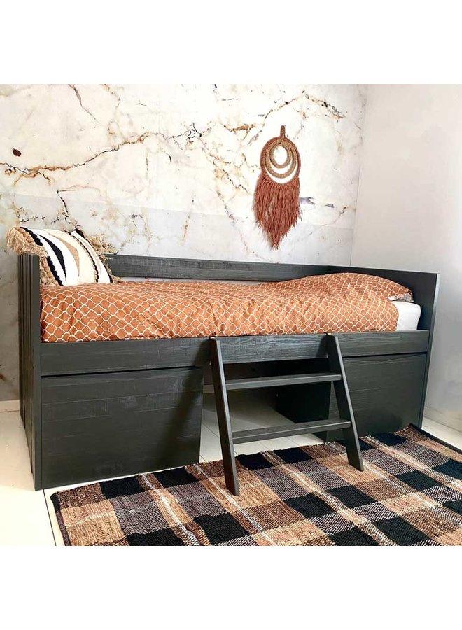 Tuck-Inn® dekbedovertrek 120x150 (junior) Once upon a dream Hazel brown