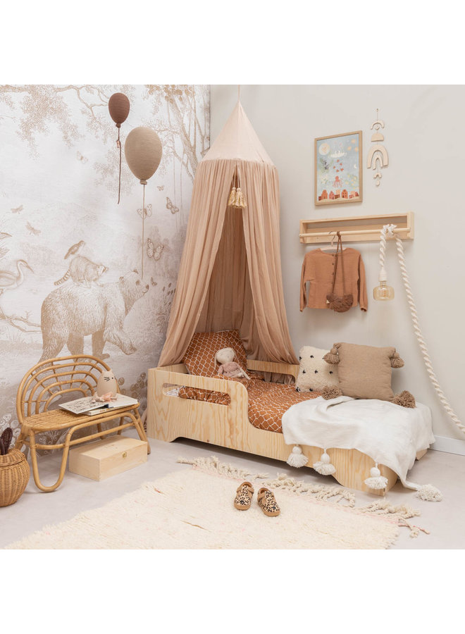 Tuck-Inn® duvet cover 100x135 (baby) Once upon a dream Hazel brown