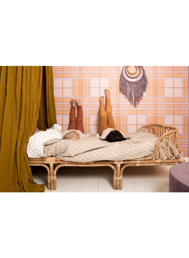 Tuck-Inn® dekbedovertrek 100x135 (baby) Once upon a dream Sand