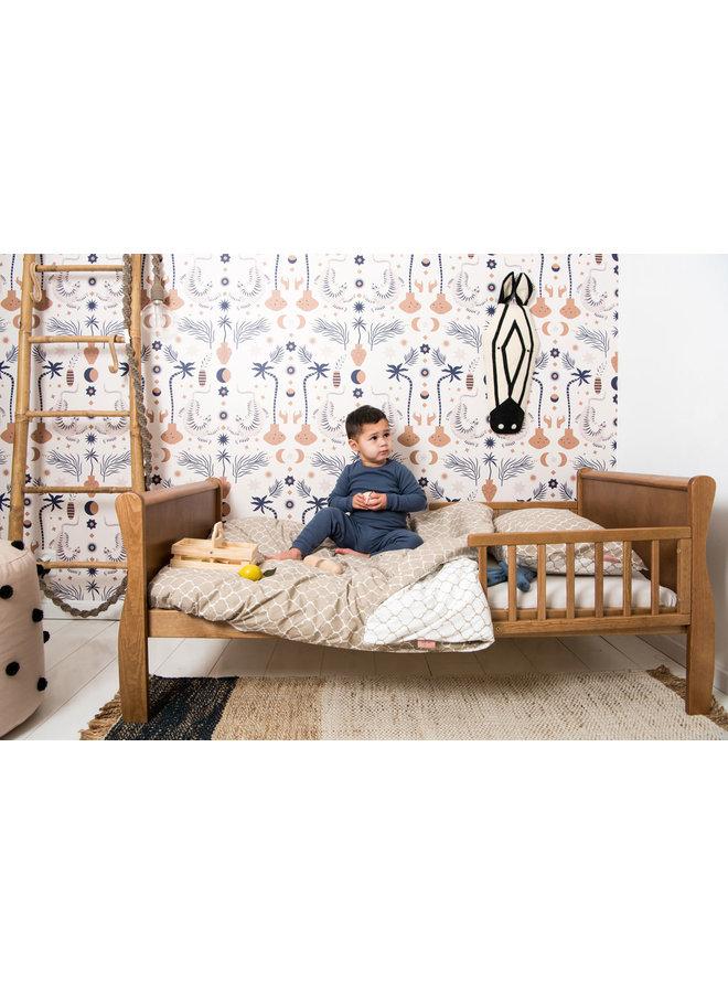 Tuck-Inn® duvet cover junior 120x150 Once upon a dream Sand