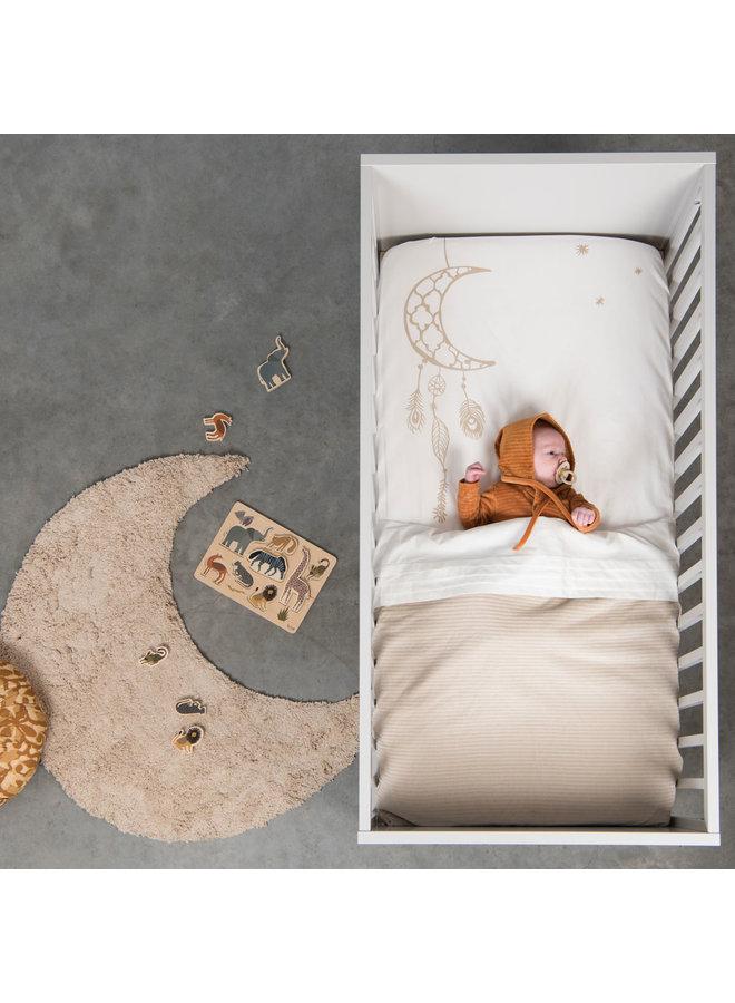 Tuck-Inn® baby blanket Corduroy Sand