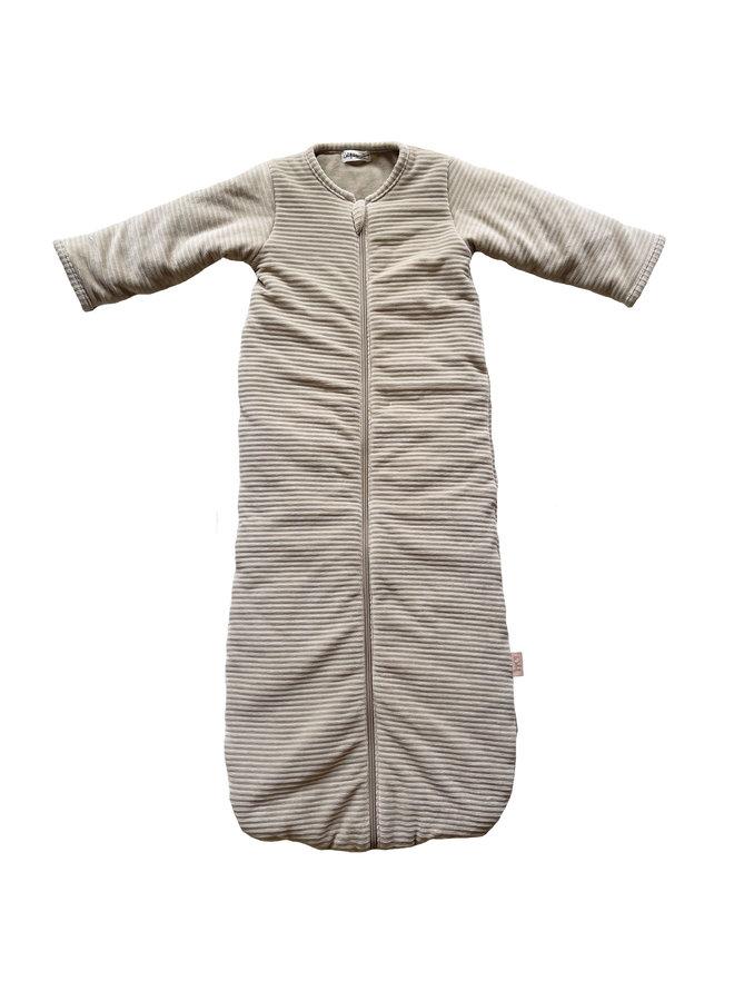 Sleeping bag SLEEP & GO  winter 6-24 mnths Corduroy Sand