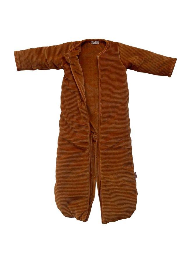 Sleeping bag SLEEP & GO  winter 6-24 mnths Corduroy Hazel brown - Copy