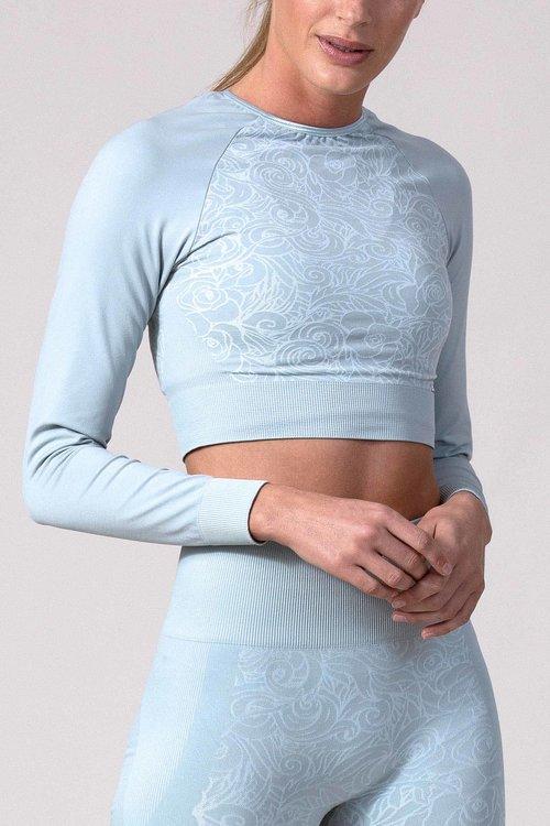 VIANE Long Sleeve Shirt VIANE Mirage Grey