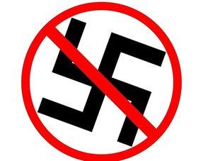 Artikelen met verwijderde Nazi symbolen