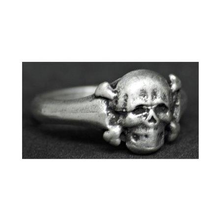 Kleine doodshoofd ring