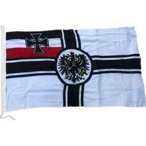 Duitse kijzerrijk vlag katoen