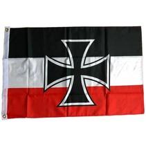 Duitse keizerrijk kruis vlag polyester