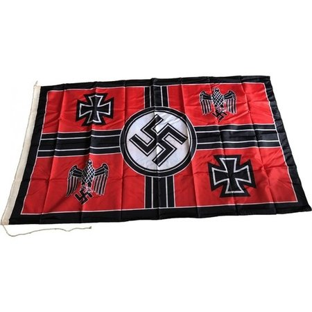 Minister van oorlog vlag polyester
