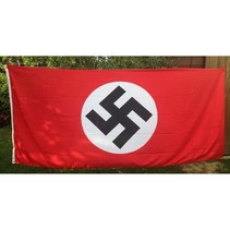 NSDAP Nazi party flag large polyester