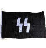 Schutzstaffel(Waffen SS) vlag hand genaaid