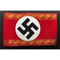 Swastika krans politieke officiers armband