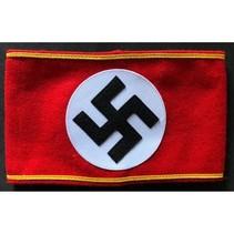 NSDAP Nazi armband gold