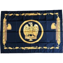 Musketeers of Mussolini flag polyester