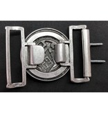 Hitlerjugend officier buckle zilver