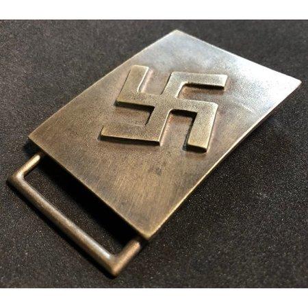 Swastika modern buckle