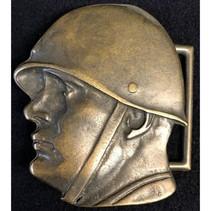 Benito Mussolini modern buckle