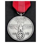 Olympische spelen 1936 herdenkingsmedaille
