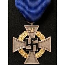 50 jaar loyale dienst medaille